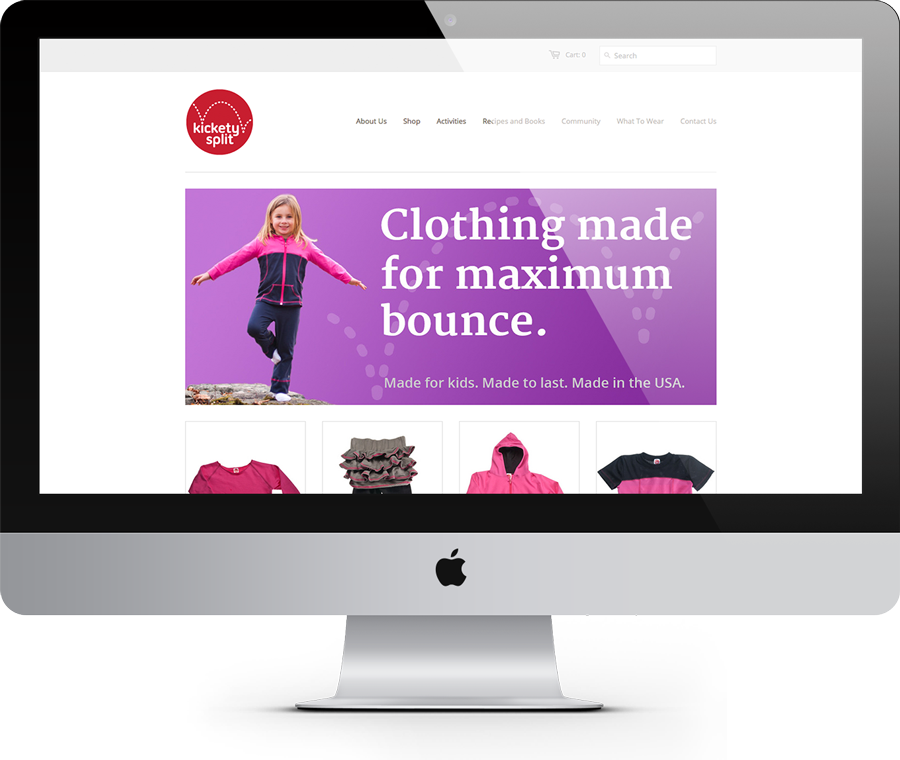 Kickety Split Shopify Site